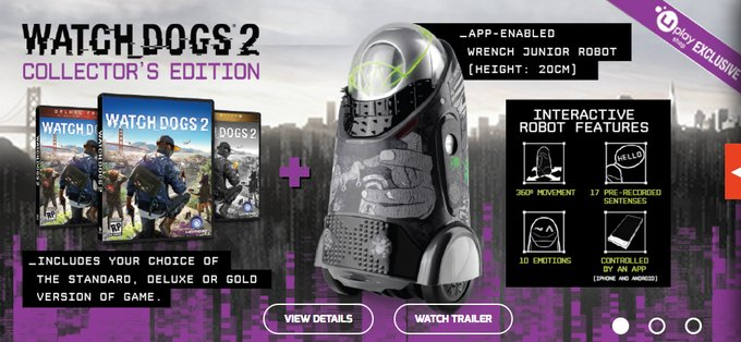 Watch Dogs 2 Official Playstation Store Pre Order: Official Collector's Edition Compilation VI (No Reselling