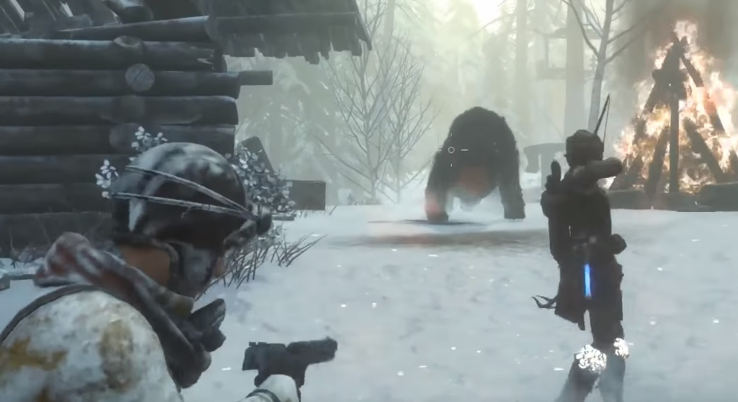 Rise Of The Tomb Raider Ps4 Co Op Gameplay