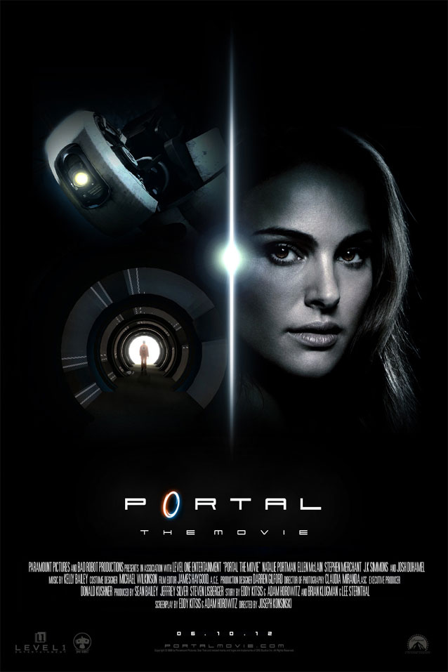 Movie Fan Magazines: Portal: The Movie Announcement Is Coming SoonGame Playing Info
