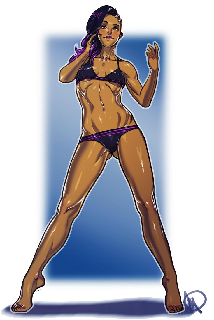 sombra overwatch hentai