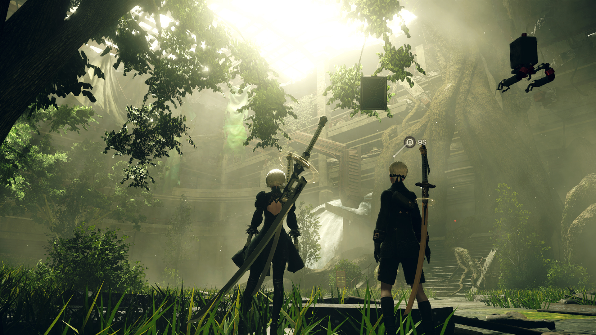 Hd wallpaper nier automata - Nier Automata Stable Fps Mod
