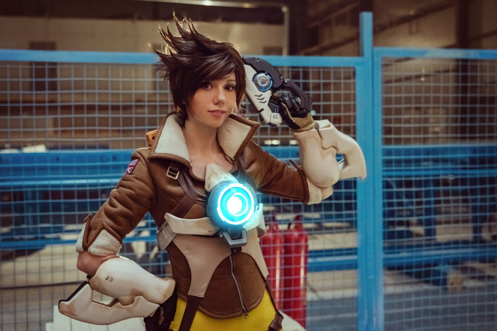 Playful Ardsami Cosplay Tracer Overwatch Gamepare Pics 1
