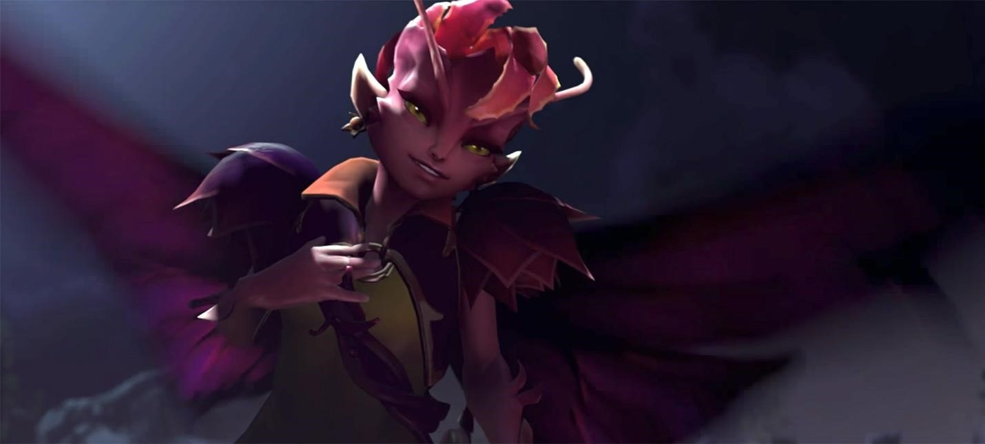 valve showed a couple of new characters for dota 2game playing info