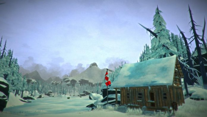 Mysterious lake in The Long Dark map location of bunkers and